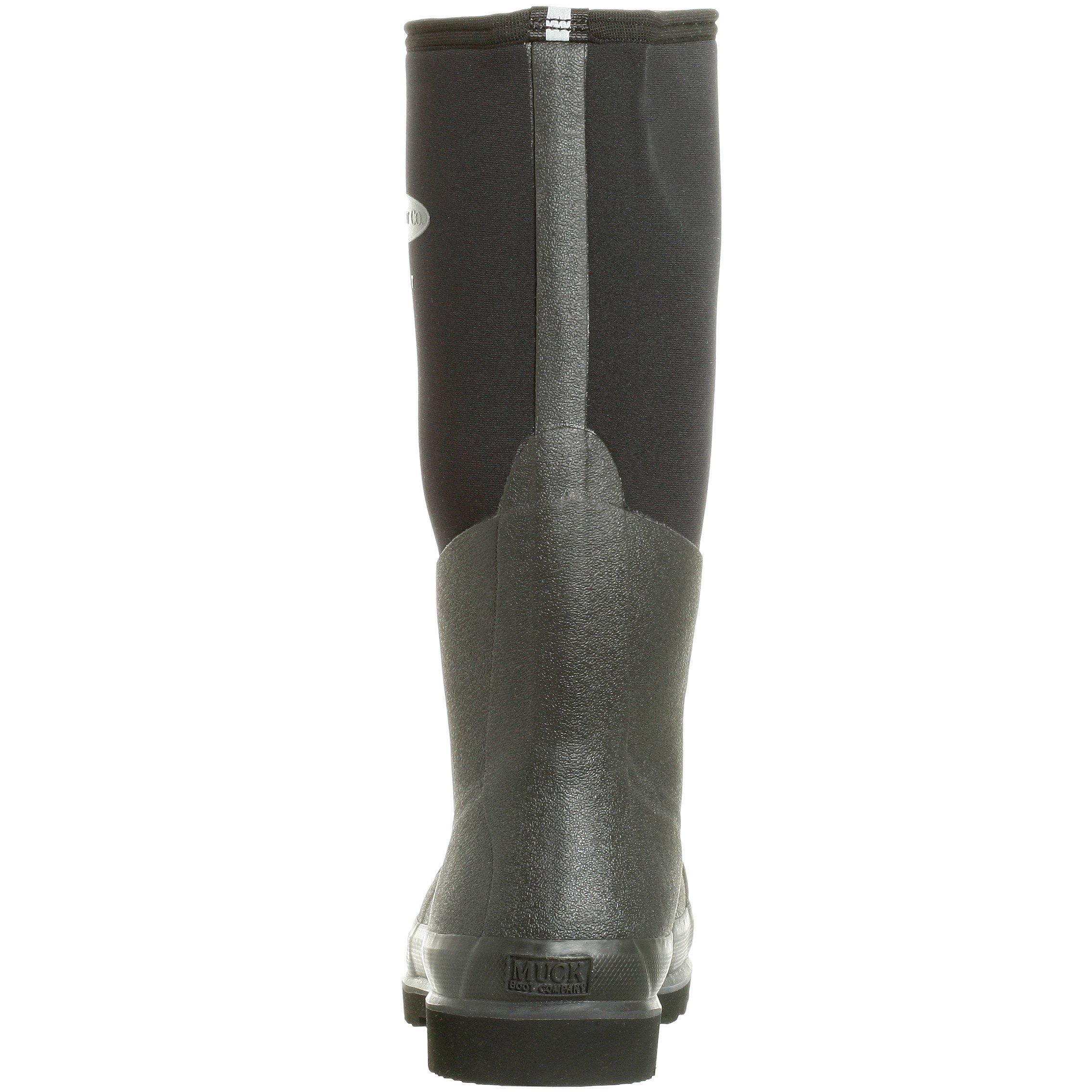 The Original MuckBoots Adult Chore Hi Boot Steel Toe,Black,Men's 12 M/Women's 13 M by Muck Boot (Image #2)