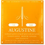 Augustine AUGGOLDSET Classic/Gold Nylon Classical Guitar Strings, Medium tension