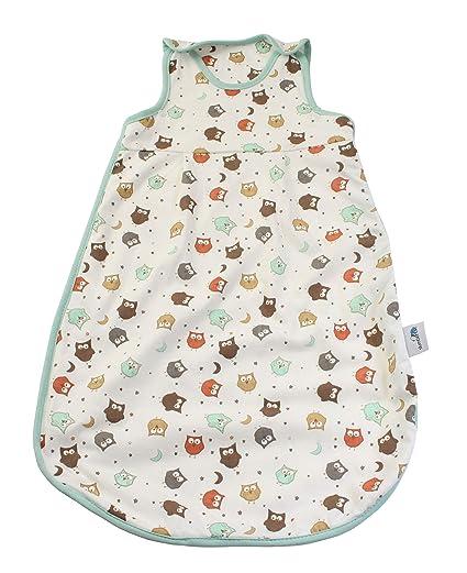 Saco de dormir Slumbersac, diseño de búhos, tog 3,