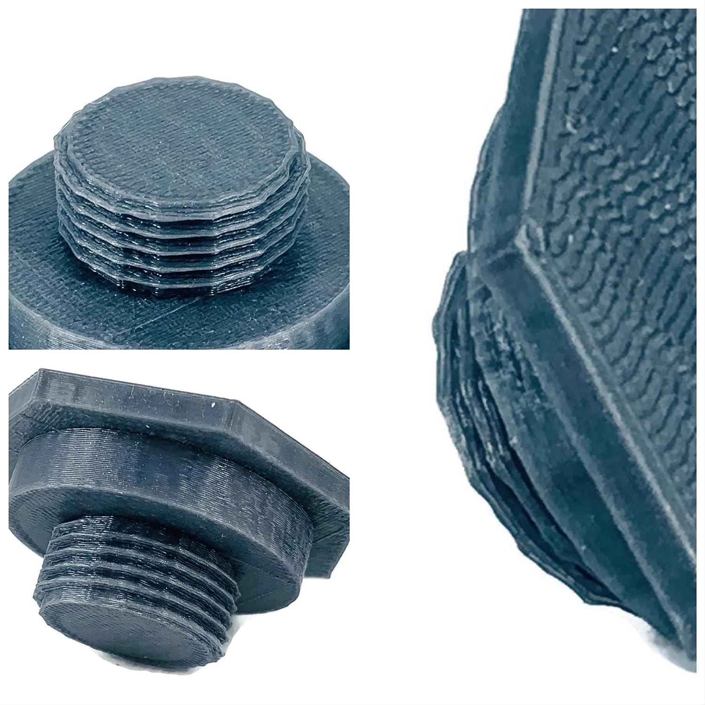 eXODA LPG gas cap with M22 thread DISH LPG gas cap silver