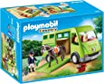 Playmobil - Cavalier avec Van et Cheval, 6928