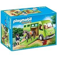 Playmobil Cavalier avec Van et Cheval, 6928