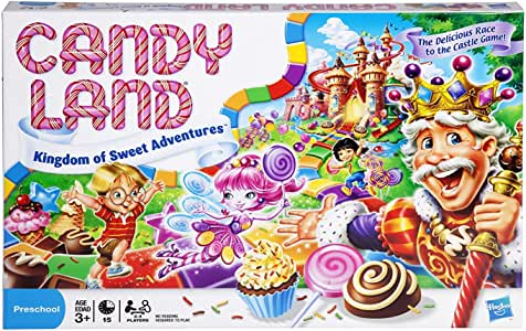 Candyland Board Games - The World of Sweets - Kids Toys - Suitable for Young Children - Ages 3+