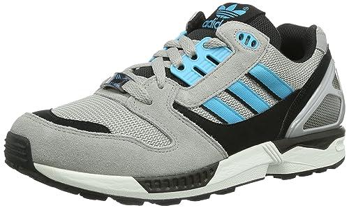 Adidas Originals ZX 8000 - Zapatillas de Tela Hombre, Color Gris, Talla 40: Amazon.es: Zapatos y complementos