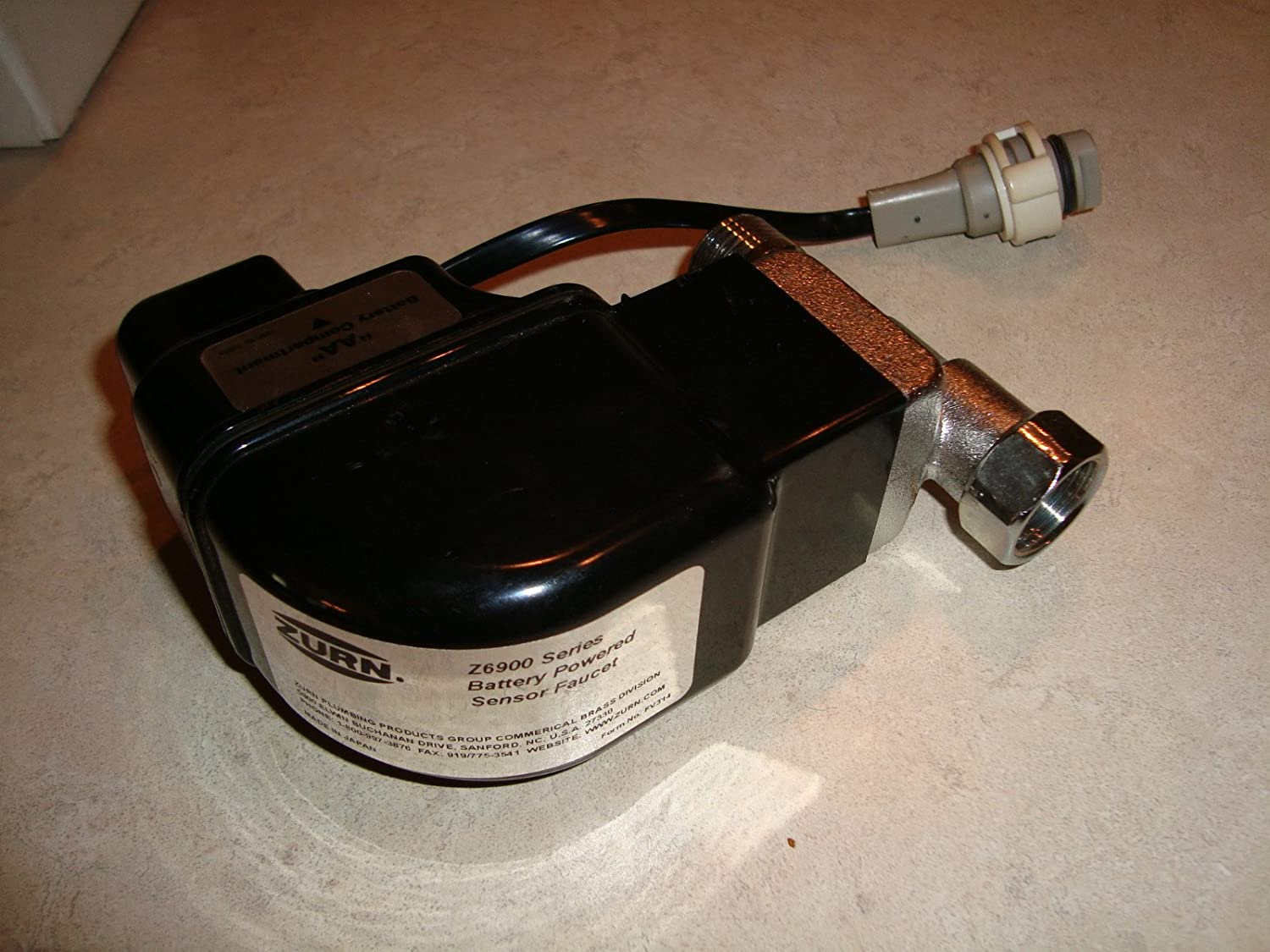 Amazon.com: Zurn P6900-B-L Electronic Box with Solenoid for Metering ...
