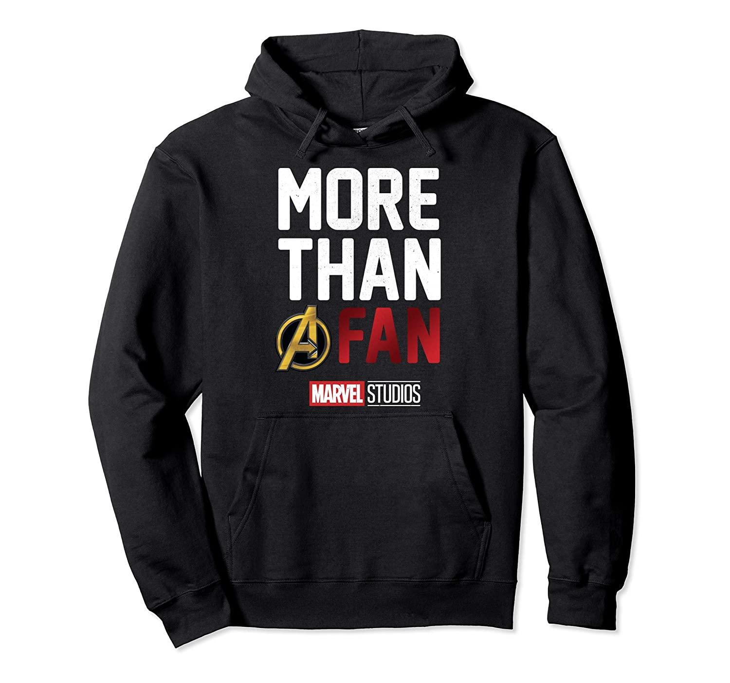 048d1207eb4 Amazon.com  Marvel Avengers More Than A Fan 2019 Graphic Hoodie  Clothing