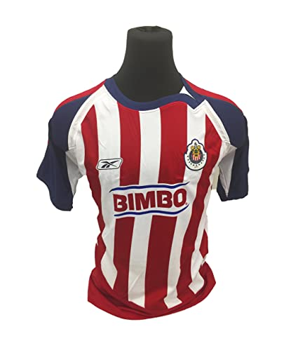 dfefbf3d308 Amazon.com   Chivas De Guadalajara Home Soccer Jersey   Sports Fan ...