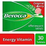 Berocca Energy Vitamin, Original Berry - 30 Effervescent Tablets