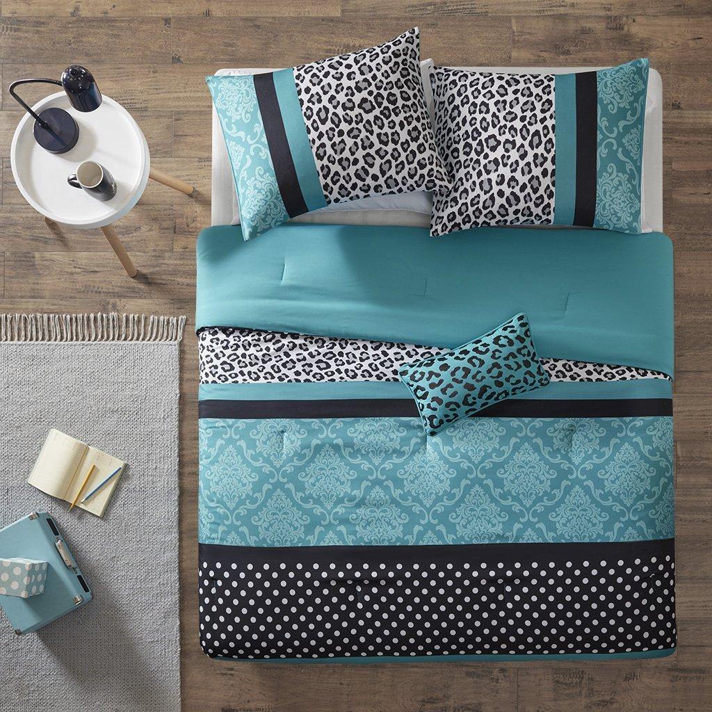 Teal Twin//Twin XL Mizone Comforter Set