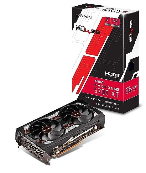 Amazon.com: Sapphire Radeon Pulse RX 5700 Xt - Tarjeta ...