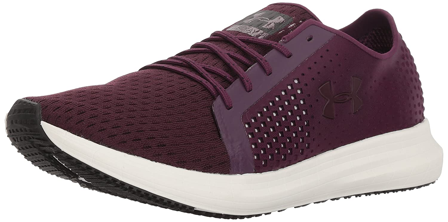 Under Armour Women's Sway Running Shoe B0711K77T7 9 M US|Merlot (502)/Ivory