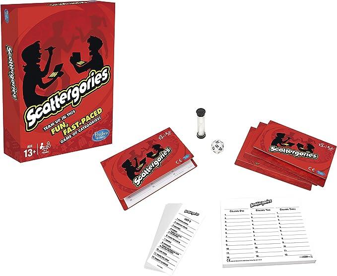 Games - Scattergories (Hasbro A5226105): Amazon.es: Juguetes y juegos