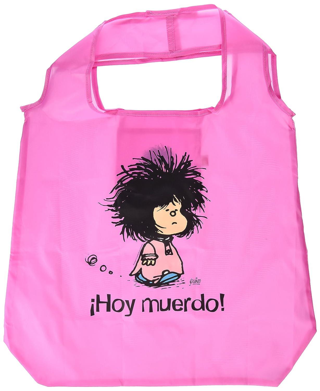 Bolsa plegable Mafalda ¡Hoy muerdo!: QUINO: Amazon.es ...