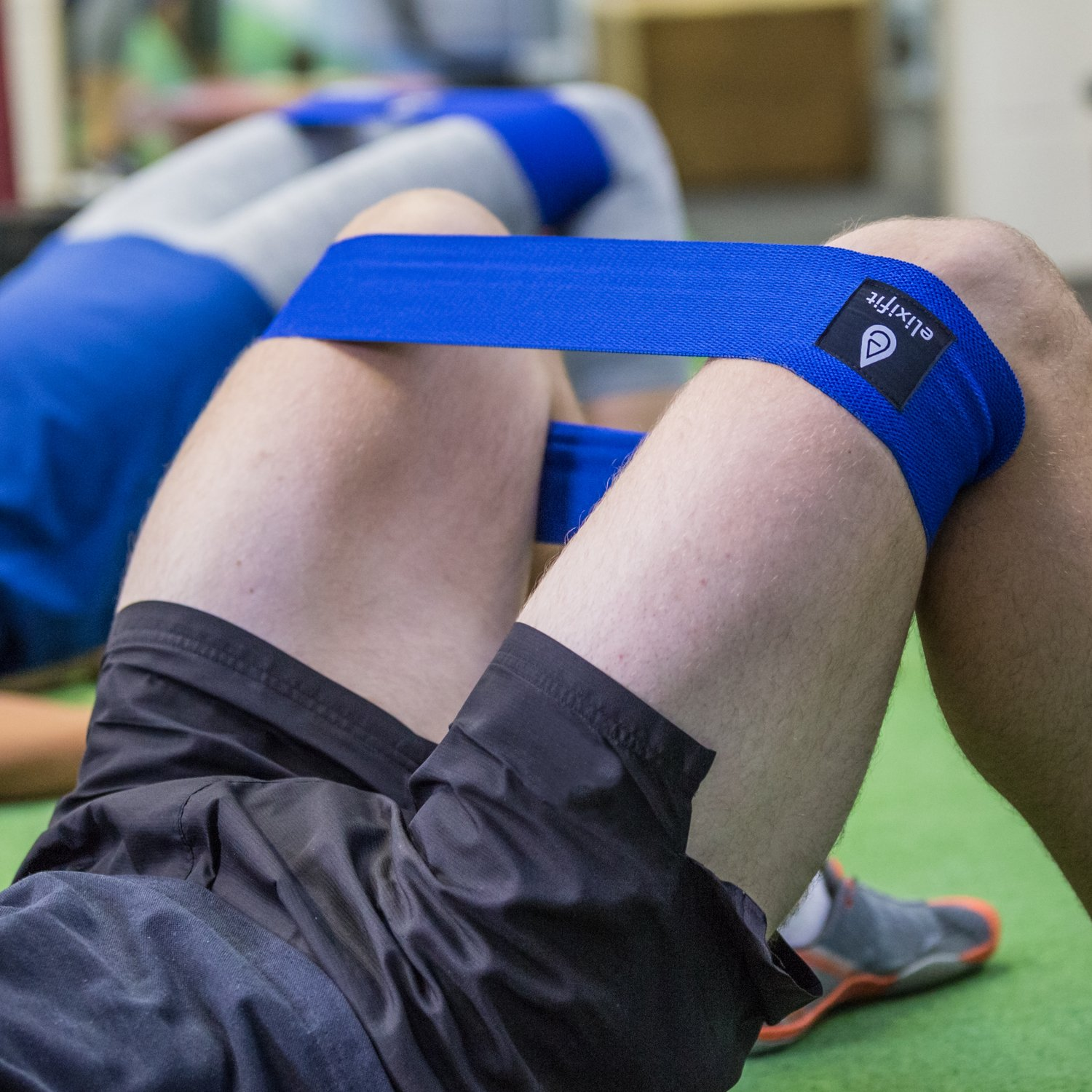 Premium Glute Resistance Band - Hip Warm Up Activation Circle -  Weightlifting Crossfit Injury Rehabilitation - Includes Glute Training  Ebook -
