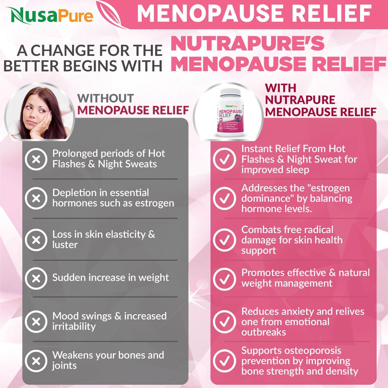 menopause hot flash relief