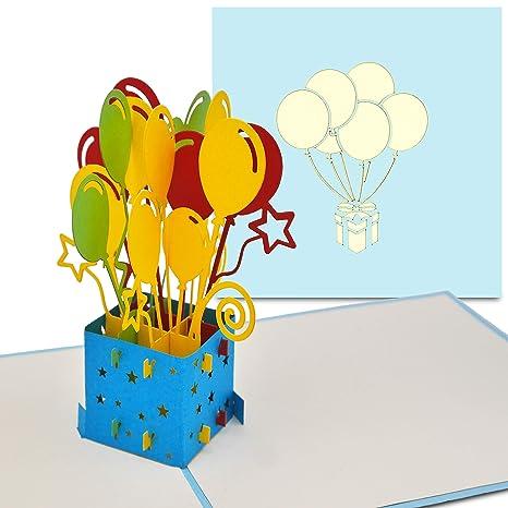 Papercrush Carte Pop Up Anniversaire Parfait Comme Carte Cadeau D