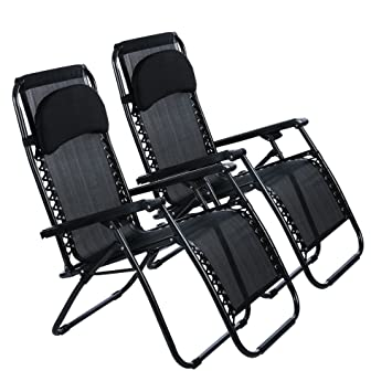 amazon com yuebo zero gravity chair folding recliner chair