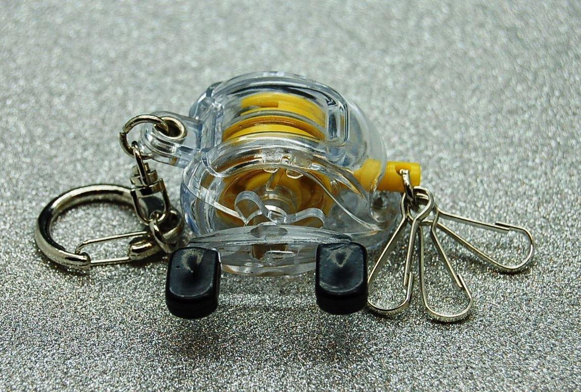 キーリング、キーチェーン B06WWMRV5X、Zinger、プラスチック釣りリール、フライ釣り B06WWMRV5X, アメイズゴルフ:94a450de --- hasznalttraktor.e-tarhely.info
