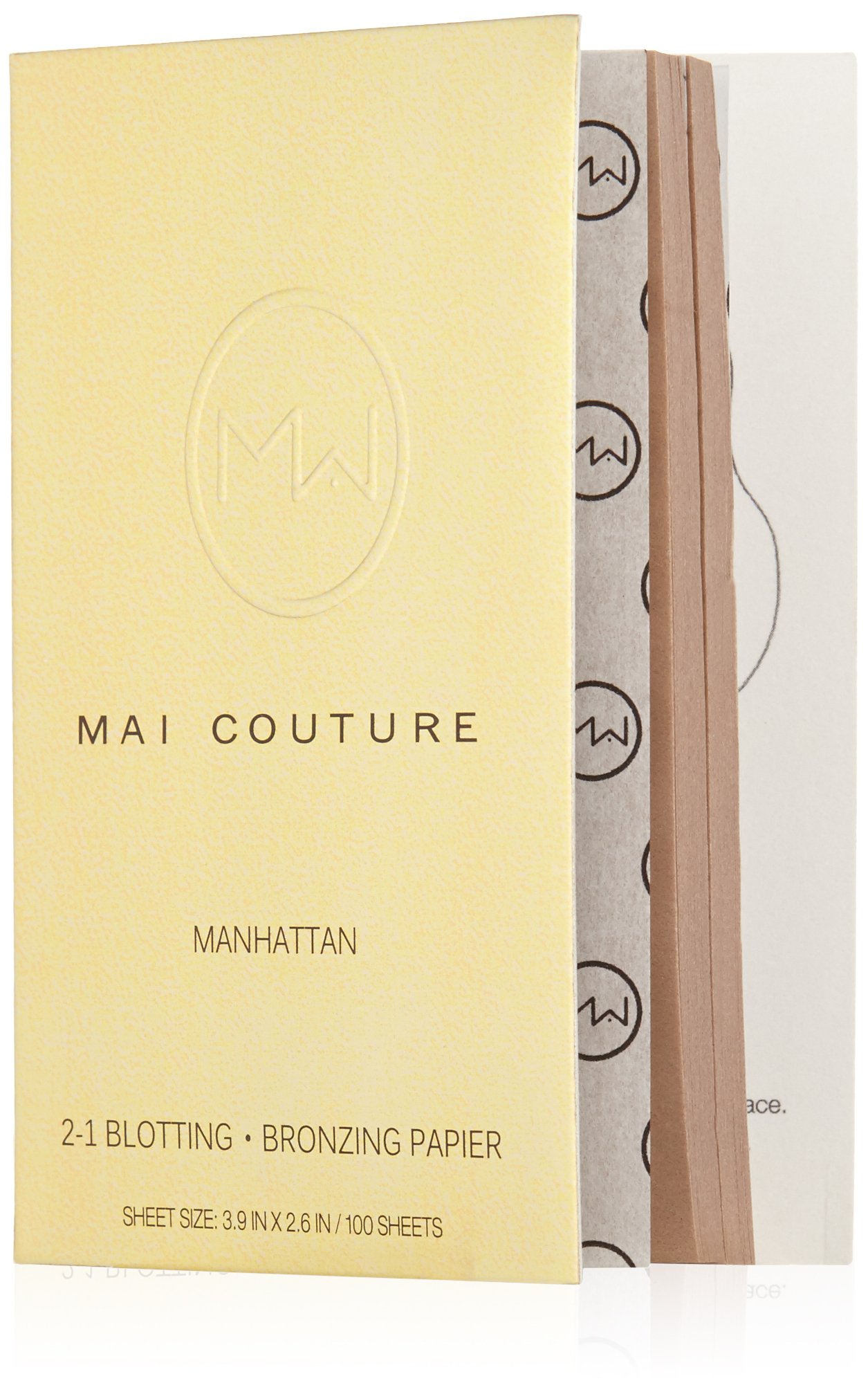 Mai Couture 2-1 Blotting and Bronzing Papier, Manhattan