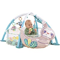 Infantino 4-in-1 Jumbo Baby Activity Gym & Ball Pit - Combination Baby Activity Gym and Ball Pit for Sensory Exploration…