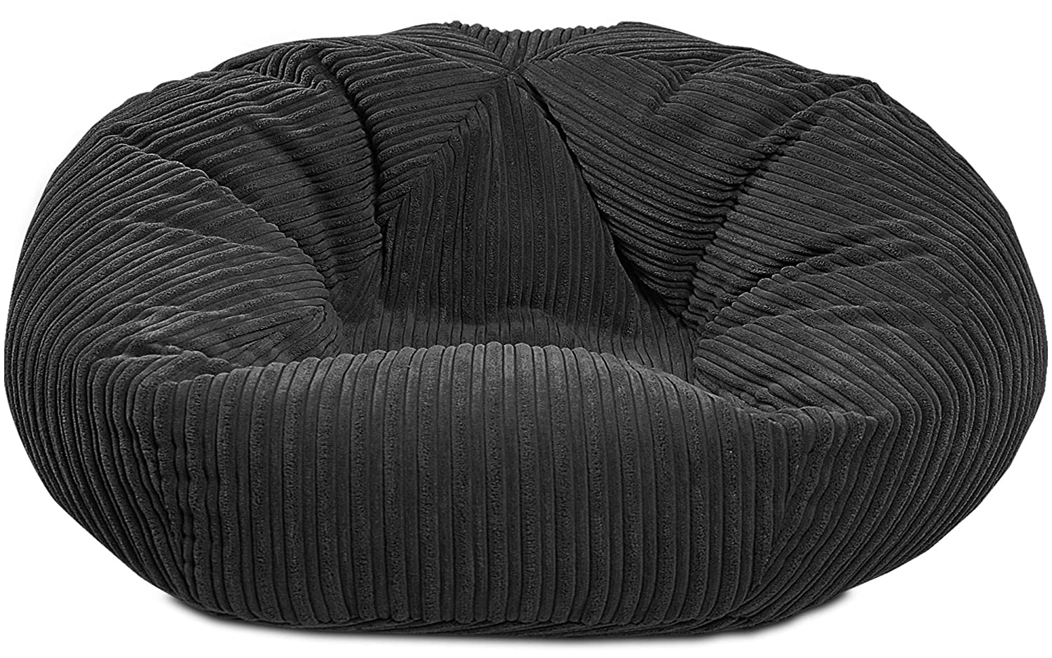Fantastic Gilda Monster Adult Beanbag Classic Soft Comfy Gaming Jumbo Corduroy Bean Chair Filled With Virgin Beans Beautiful Home Accessory Moulds To Shape Machost Co Dining Chair Design Ideas Machostcouk