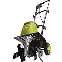 Sun Joe TJ602E 12-Inch 8-Amp Electric Garden Tiller/Cultivator (Renewed)