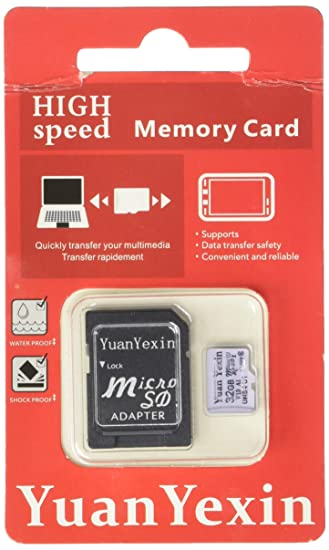 Amazon.com: YuanYexin Micro SD 32GB SDHC U1 Pass H2testw ...