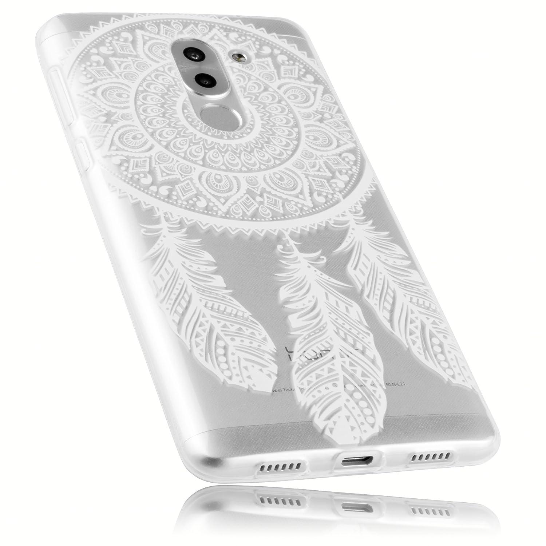 mumbi UltraSlim Hülle für Huawei Honor 6X Schutzhülle transparent (Ultra Slim - 0.70 mm) mumbi® 22061-Huawei Honor 6X