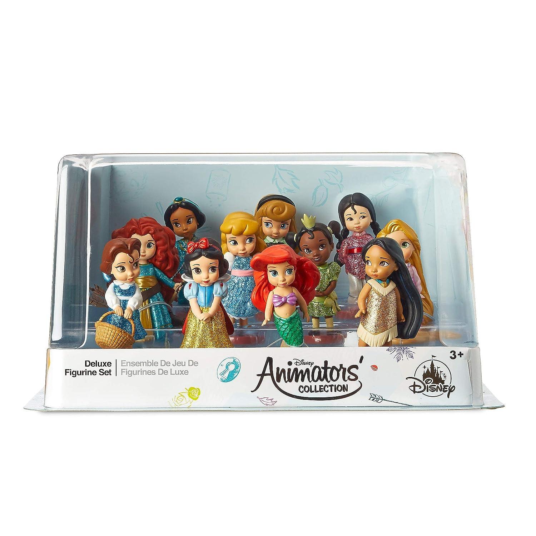 Disney Animators Collection Deluxe Figurine Set No Color