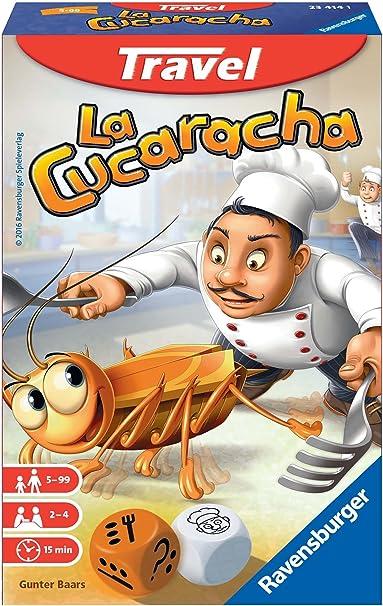 Ravensburger- Juego de Viaje La Cucaracha, Miscelanea (234141): Amazon.es: Juguetes y juegos