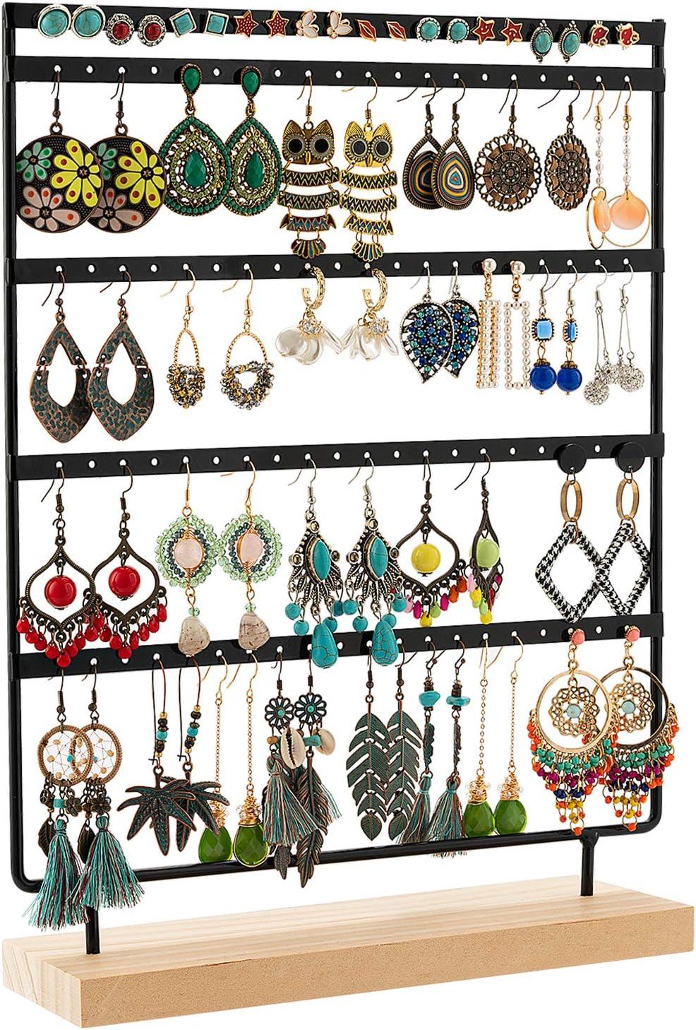 DHMK Earring Holder Stand Jewelry Organizer Display Rack