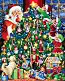 The Star on Top Christmas Jigsaw Puzzle 1000 Piece