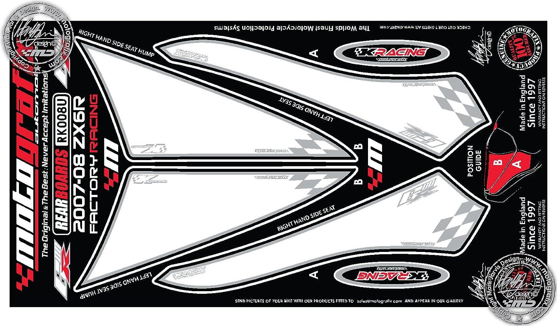 Kawasaki Ninja ZX6R 2007 2008 carenado protección número ...
