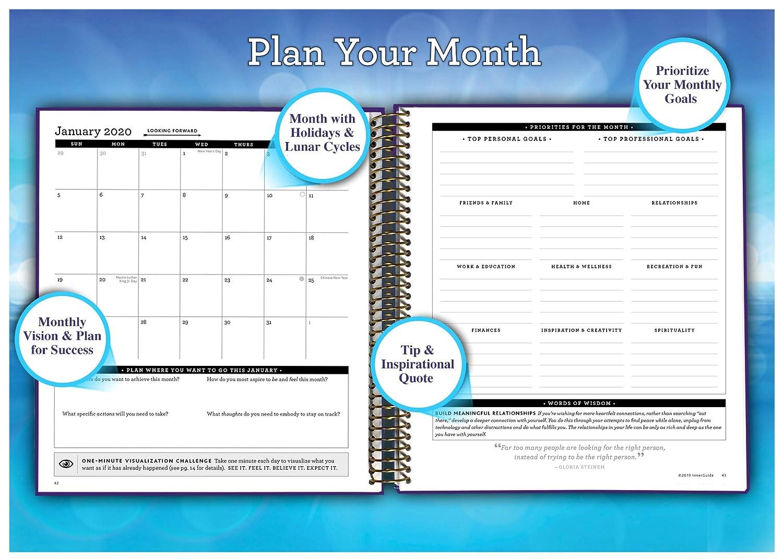Amazon.com: InnerGuide Planificador diario sem mensual ... on