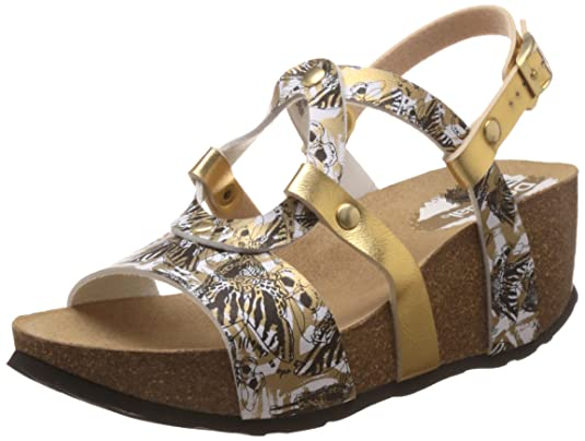 Desigual Women's Shoes_Bio 9 Anissa Butterfly Fashion Sandals at amazon