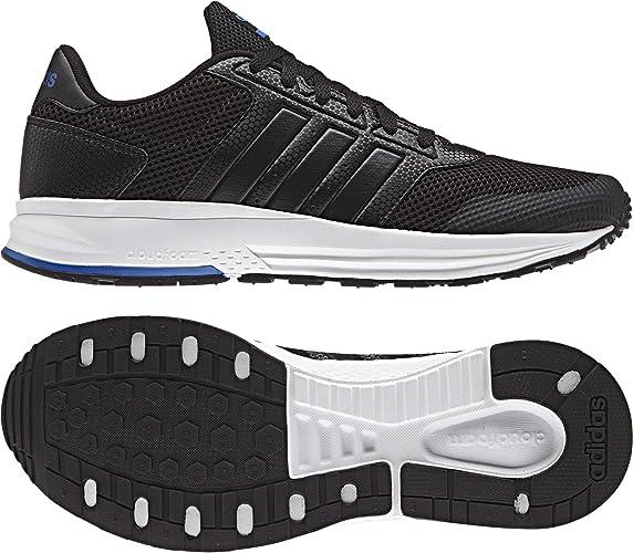 adidas Cloudfoam Saturn Chaussures de Tennis Homme, Noir
