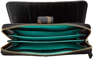 Tous Billetera Kaos Classic, Cartera para Mujer, Multicolor (Negro/Camel), 3x10.5x18.5 cm (W x H x L): Amazon.es: Zapatos y complementos