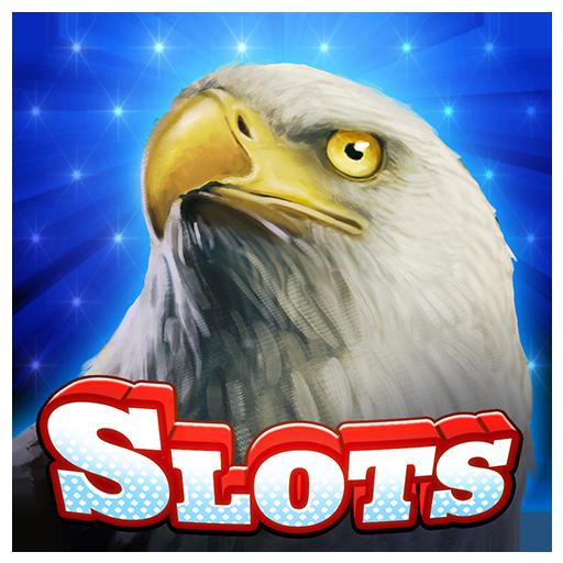 Liberty Wild Eagle Slots Casino  The Progressive American Way Of Jackpot Bonus Slot Machines