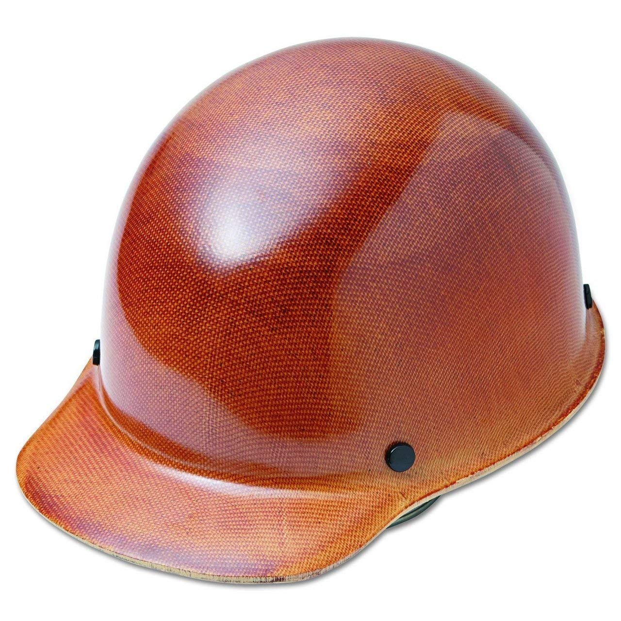 MSA 475395 Skull Gard Hard Hat for Elevated Temperatures, 11'' x 8'' x 4'' 5, Brown, 11'' x 8'' x 4'' 5 (3 Pack)
