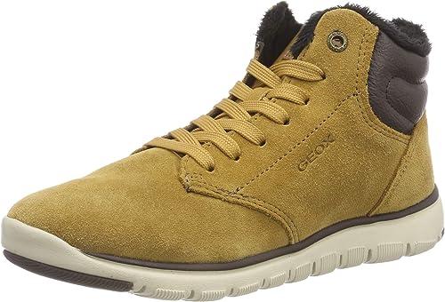 Geox J Xunday H, Bottes Chukka garçon: : Chaussures