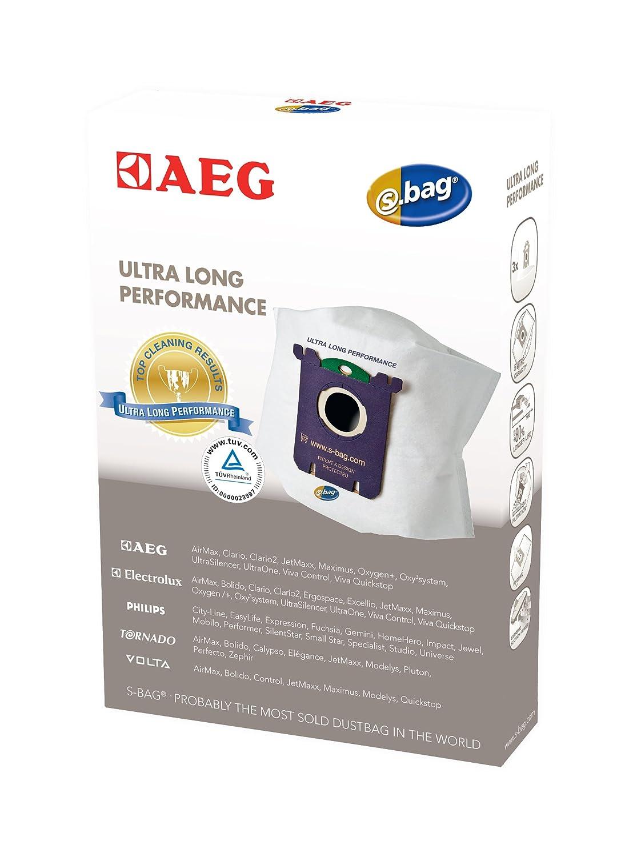 AEG GR210M s-bag Mega Pack for including AEG Nikita, UltraSilencer, 8 s-bag GR210 bag, 1 motor filter, 1 micro filter Electrolux 900168111