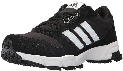 new concept b084c b12ff adidas outdoor Men s Marathon 10 Trail, Black White, 8 M US