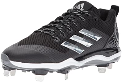 65abff154224 adidas Men's Freak X Carbon Mid Baseball Shoe, Core Black, Silver Met, FTWR