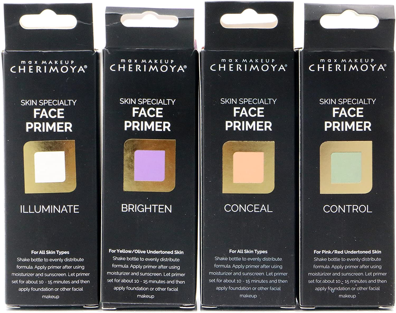 1pc Cherimoya Skin Specialty Face Primer For All Skin Types #PRM404 by Max Makeup Cherimoya: Amazon.es: Belleza