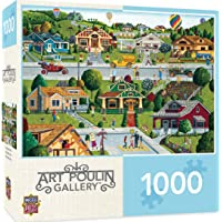 1000-Pieces MasterPieces Hometown Gallery Jigsaw Puzzle (Bungalowville)
