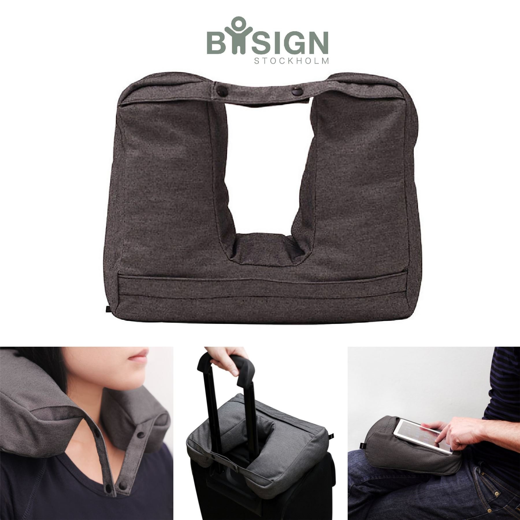 Bosign 2-in-1 Tablet and Travel Pillow