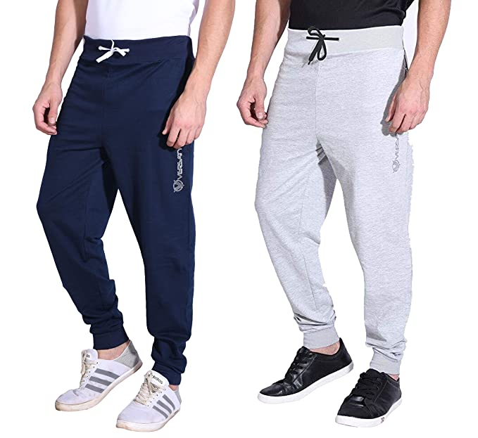 7ffeb2fe VERSATYL Men's Cotton Slim Fit Track Pants Joggers Combo Pack of 2  (Blue-Grey): Amazon.in: Clothing & Accessories