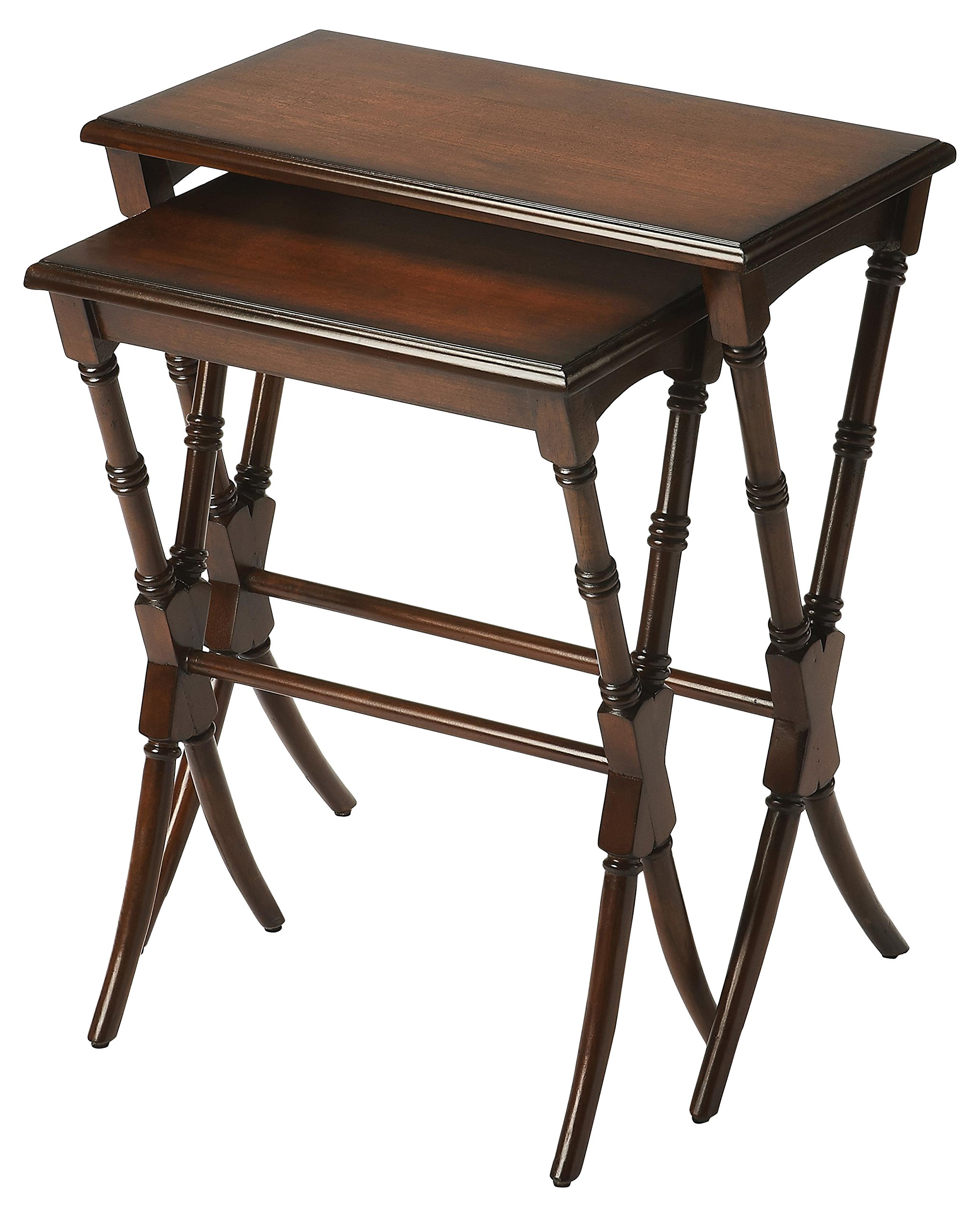 Butler Specialty Company 3616011 Nesting Tables Arabella Antique, Cherry