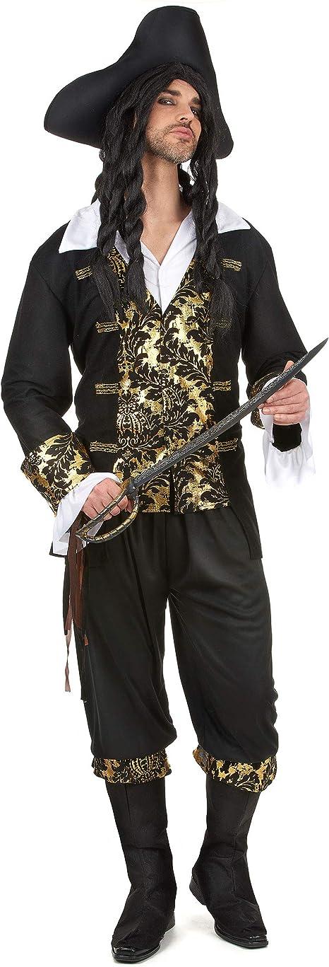 Disfraz de pirata hombre XL: Amazon.es: Juguetes y juegos