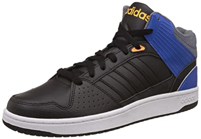 adidas HOOPS JUMPSHOT MID Sneakers for Men, 39 13, Black